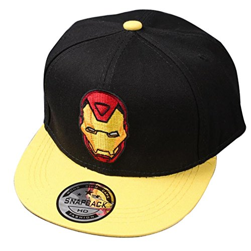 Sopher®Kid's Youth Iron Man Hat - Adjustable Baseball Cap