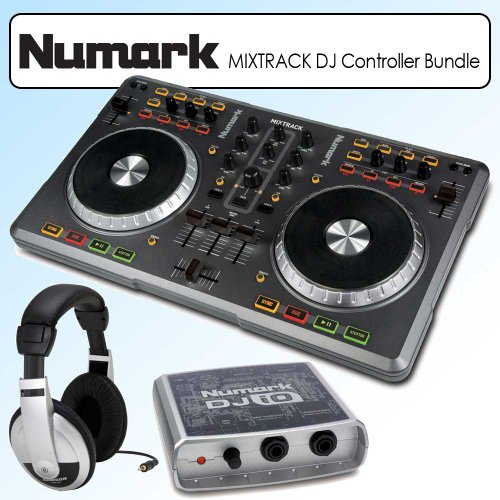 check out numark mixtrack usb dj controller kit with virtual dj le software dj controller. Black Bedroom Furniture Sets. Home Design Ideas