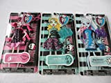Monster High 3 Dolls Fashions Lagoona Blue - Abby Bominable - Draculaura