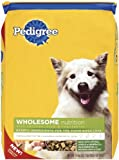 Pedigree Wholesome Recipe with Chicken, Rice &amp; Vegetables Dry Food for Adult Dogs, 16.3-Pound Bag