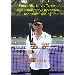 Tennis Abs, Cardio Tennis, Yoga Tennis, Serve Dynamics, and Serve Training