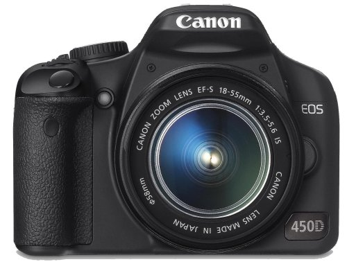 Canon EOS 450D Digital SLR Camera Kit (incl EF-S 18-55mm IS f/3.5-5.6 non USM Lens Kit)