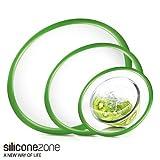 Silicone zone シリコン ゾーン EZ Seal 密封容器/シリコンカバー [ 15cm 20cm 25cm 3セット ]