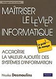 echange, troc Nicolas Desmoulins - Maitriser le levier informatique
