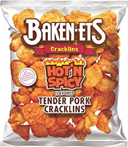 Baken-ets Hot Spicy Flavored Strips 375oz Bags Pack Of 15 from Frito Lay