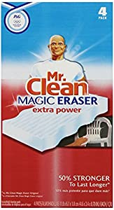 Mr. Clean Extra Power Carton Magic Eraser, 4 Count