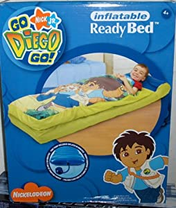 Go diego go ready bed sleeping bag toys games for Go diego go bedding