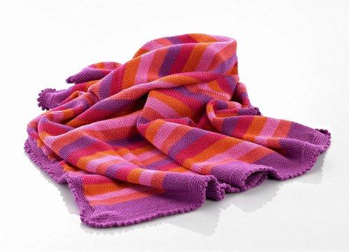 Baby Blanket - Pink Stripey