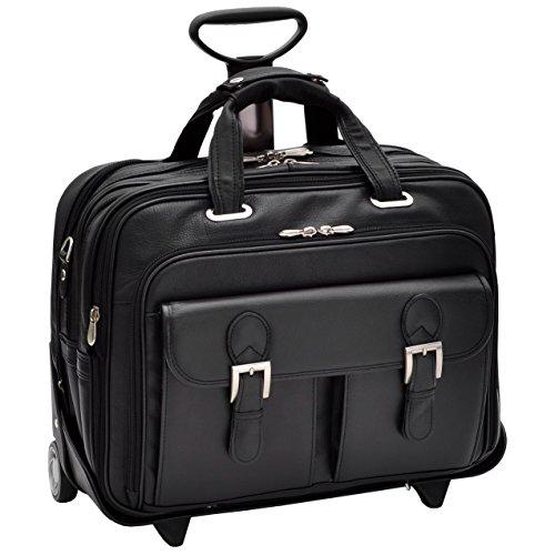 Siamod-Ceresola-Rolling-Leather-17-Laptop-Bag-Black