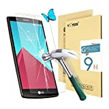 LG G4 Screen Protector,Yootech LG G4 Tempered Glass Screen Protector,0.3mm 9H Hardness Featuring Anti-Scratch,Lifetime Warranty