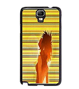 PrintDhaba Cool Girl D-5637 Back Case Cover for SAMSUNG GALAXY NOTE 3 NEO (Multi-Coloured)