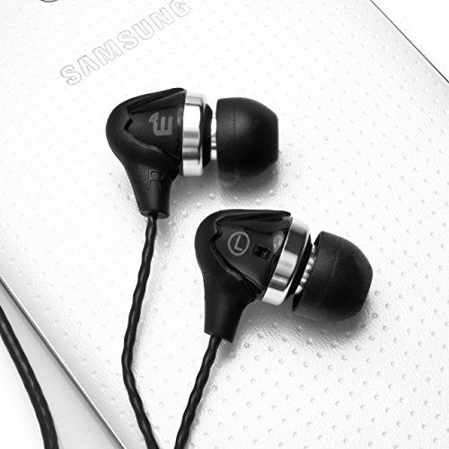 Brainwavz M5 In Ear Noise Isolating Earphones (Black)