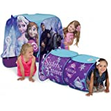 Disney Frozen Elsa and Anna Playhut Play Tent with Tunnel for Kids