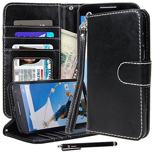 Nexus 6 Case, Google Nexus 6 Wallet Case