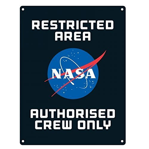 nasa-small-wall-plaque-sign-metal-tin-restricted-area