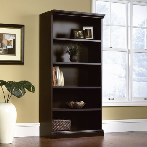 Sauder Select Library 5 Shelf Bookcase in Estate