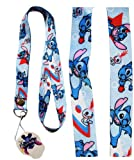 Disney Lilo & Stitch lanyard multi-purposes holder (1pc)