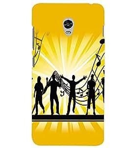 FUSON 3D Designer Back Case Cover foR Lenovo vibe p1 D9746