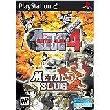 Metal Slug 4 and 5 (2 Pack) - PlayStation 2 (Certified Refurbished)