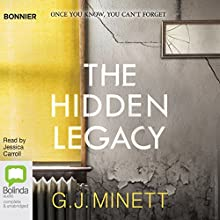 The Hidden Legacy: A Dark and Gripping Psychological Drama Audiobook by G. J. Minett Narrated by Jessica Carroll