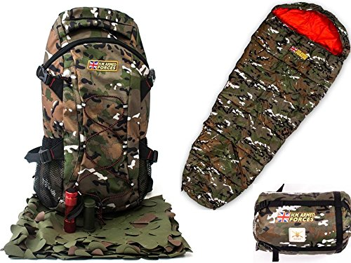 hm-forces-childrens-combat-backpack-torch-camo-netting-camo-face-paint-sleeping-bag-camping-outdoor-