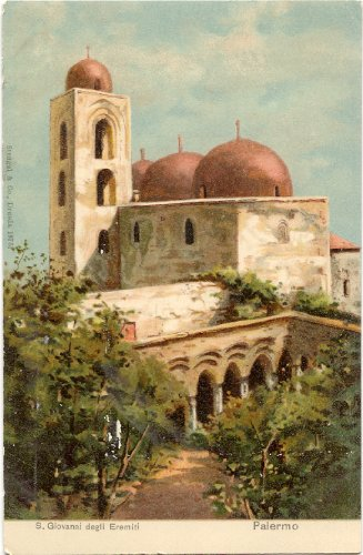 1900 Vintage Postcard Church of San Giovanni