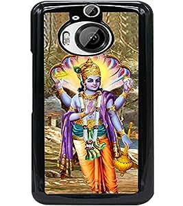 ColourCraft Lord Vishnu Design Back Case Cover for HTC ONE M9 PLUS