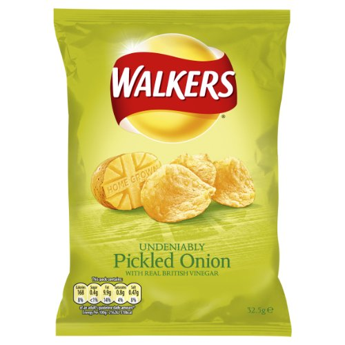 Walkers Pickled Onion 32.5 G (pack Of 48) Picture