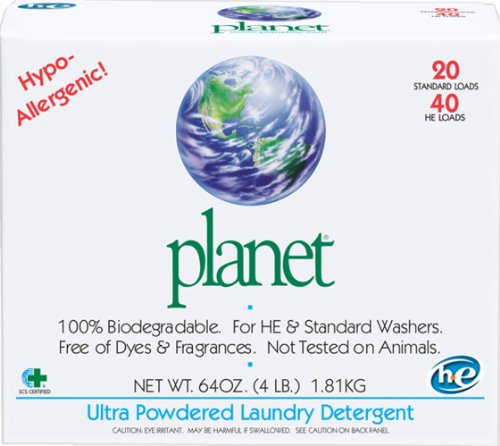 Planet Laundry Detergent Powder Dried Ultra 1.89 ltr