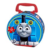 Thomas & Friends Carnival at Night 35-Piece Puzzle in a Round Tin