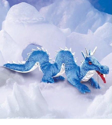 Blue Dragon Puppet