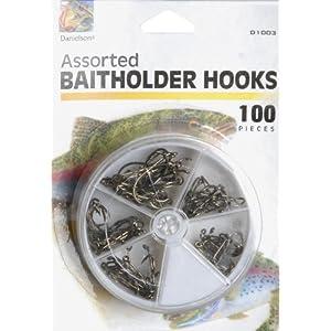 Danielson 100 Pc. Baitholder Hook Assortment
