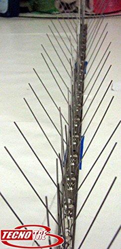 dissuasori anti piccioni colombi aghi spilli inox 1 mt