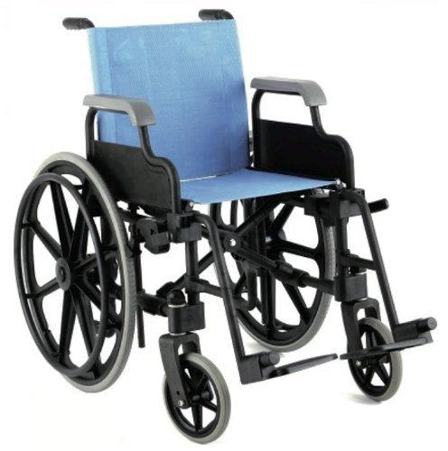 Freestyle Mobility Lifestyle Rollstuhl aus Leinen, Himmelblau