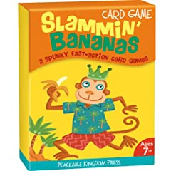 Amazon.com: CG5 - Slammin' Bananas Card Game (Cards): Peaceable Kingdom Press, Valeria Petrone: Books