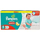 Pampers Mega Plus Baby-Dry Pants Size 4 - Pack of 94