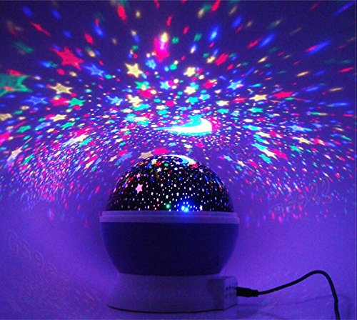 Star projector galaxy nightlight starry projection lamp space night star projector galaxy nightlight starry projection lamp space night light moon and stars sky ceiling projector aloadofball Choice Image