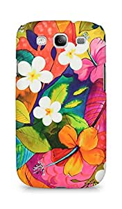 Amez designer printed 3d premium high quality back case cover for Samsung Galaxy S3 i9300 (Painting Flowers)