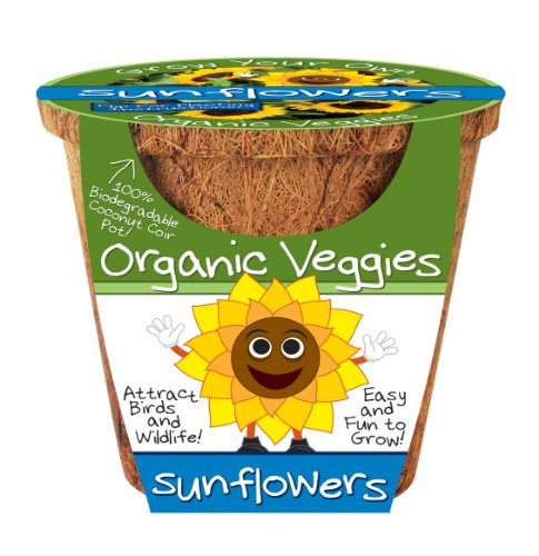 Dunecraft Sunflowers Organic Veggies Science Kit