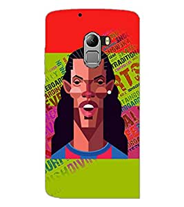 PrintDhaba Typogrphy D-5946 Back Case Cover for LENOVO K4 NOTE A7010a48 (Multi-Coloured)