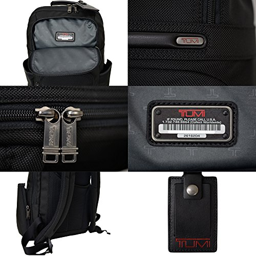 TUMI (トゥミ) Compact  Backpack 26162D4 国内未発売 FXTバリスティックナイロン 15.6インチPC収納・軽量1.1Kg・折畳傘収納防水ポケット  バックパック (リュックサック・デイパック) ビジネス バッグ ブラック 黒【並行品】