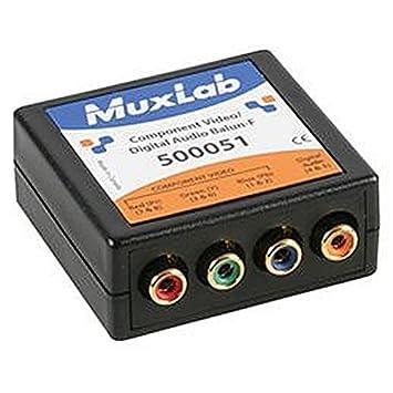 CAT5 Vidéo balun, RVB-YUV-YUV audio Le RGB audio sur Cat 5 UTP permet de composants et les signaux vidéo et RVB un signal audio d'être transmis via Câble UTP CAT5 ^Soutien 480i/p jusqu'à 305 m, 720p, 1080i/p HDTV jusqu'&ag