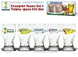 Champion Teams Set#1 Trophy-glass Gift Box - 2014 Fifa World Cup Brazil Official Licensed Product