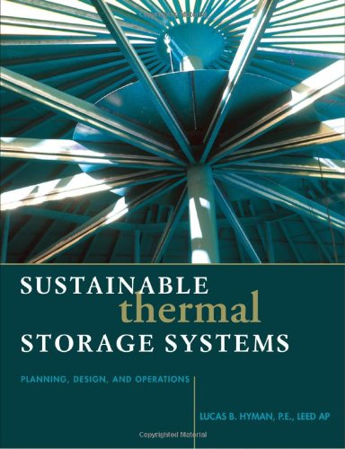 Sustainable Thermal Storage Systems Planning