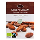 Belgian Organic Dark Chocolate 72%, 55 G./1.94 Oz.