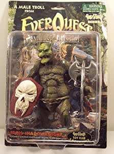 Everquest The Ruins of Kunark Troll Shadowknight Action Figure
