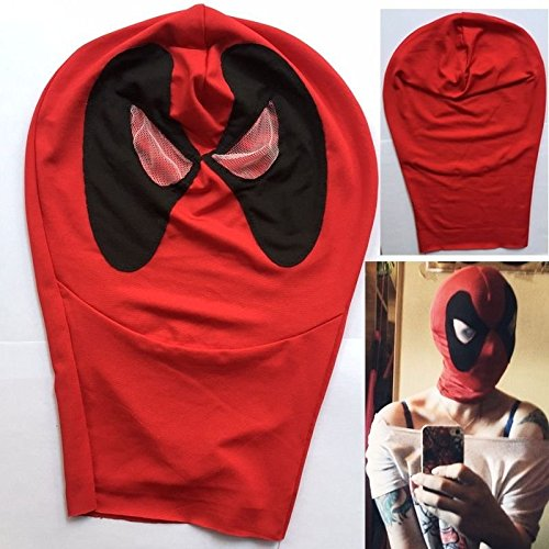 [2016 Deadpool Balaclava Halloween Costume Cosplay Headgear Full Face Masks USA] (Ideas For Halloween Costumes 2016 Couples)