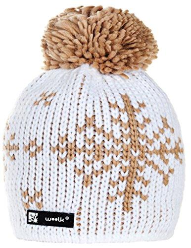 Unisex Winter Cappello invernale di lana Berretto Beanie hat Pera Jersey Sci Snowboard di moda (Eskimo 69)