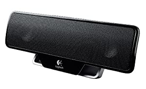 Logitech Z205 Portable Computer Speaker - Black from Logitech