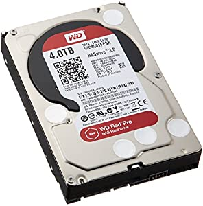 WESTERN DIGITAL WD Red Pro 3.5インチ内蔵HDD 4TB SATA6.0Gb/s 7200rpm 64MB WD4001FFSX